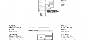 leedon-green-floor-plan-1-bedroom-type-a1-singapore