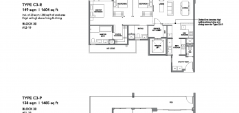 leedon-green-floor-plan-3-bedroom-premium-type-c3-singapore