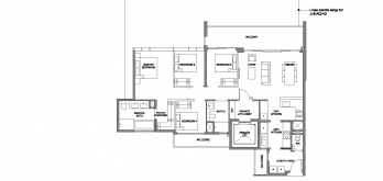 leedon-green-floor-plan-4-bedroom-exclusive-type-D1-singapore