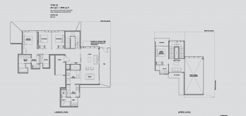 leedon-green-floor-plan-garden-villa-4-bedroom-type-E1-singapore