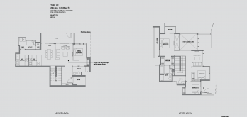 leedon-green-floor-plan-garden-villa-4-bedroom-type-E2-singapore