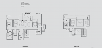 leedon-green-floor-plan-garden-villa-4-bedroom-type-E5-singapore
